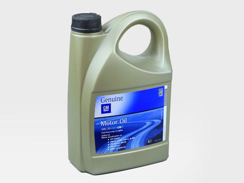Масло моторное синтетическое оригинал - GM Dexos2 5W30